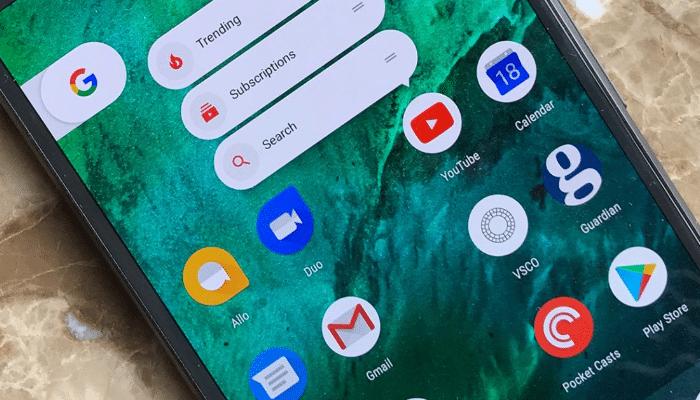 Correo electrónico de Gmail aplicaciones para crear animaciones en Android