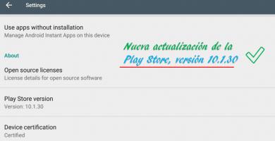 Rootear Motorola Moto E4 actualización de la play store