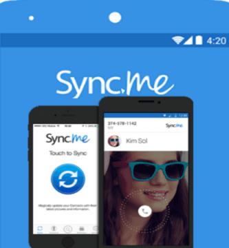 Correo electrónico de Gmail Sync.ME