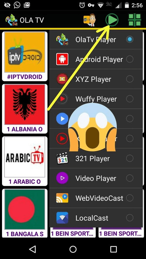 APK OLA TV es una nueva e interesante aplicación para Android ✅ gracias a la que se pueden ver muchos canales de televisión de todo el mundo y gratis >>>