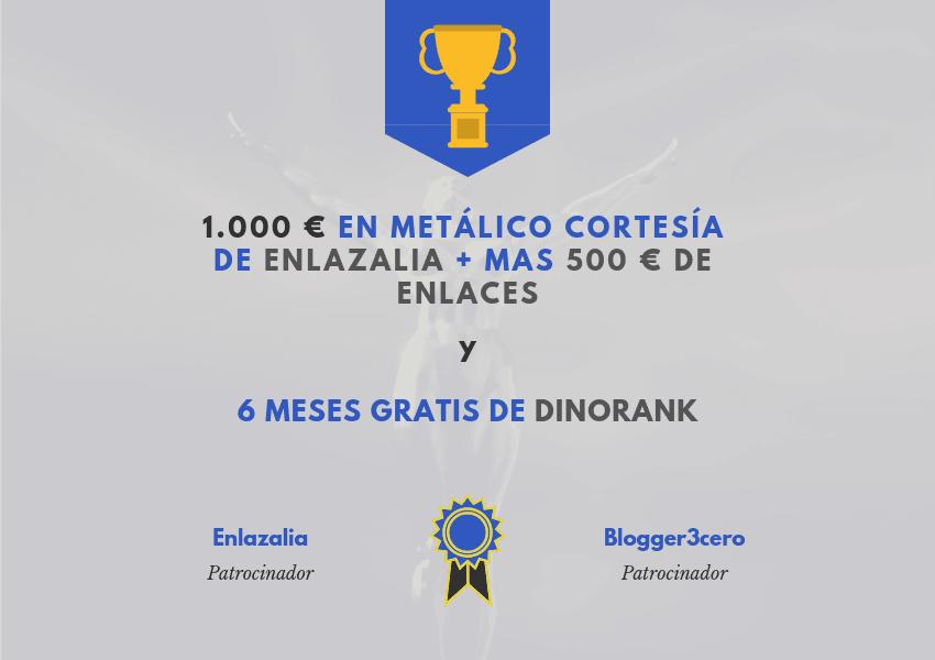 Premios DinoRANK te desplaza y Enlazalia te enlaza
