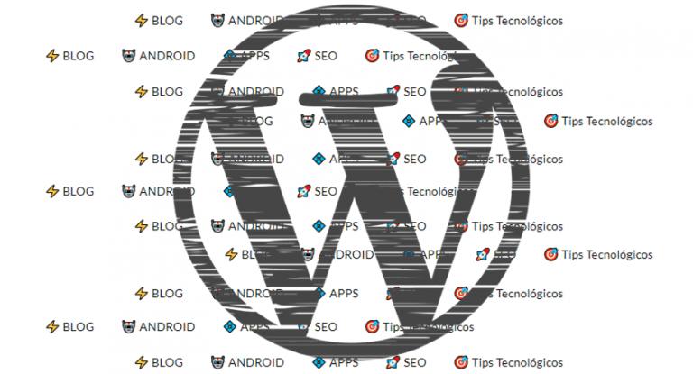 Como agregar iconos o emojis al menú en WordPress